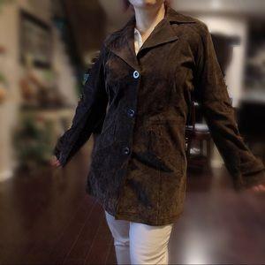 BB-Dakota Suede Leather Jacket 🧥